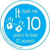 It Took Me 10 Years To Lose 10 Pounds