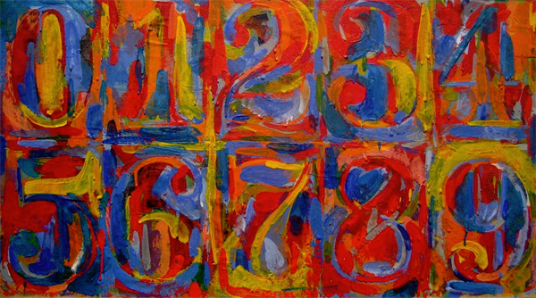 Lena Dunham's food diary - Jasper Johns -the10principles