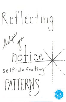 Lena Dunhams food diary reflecting - the10principles